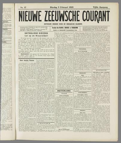 Nieuwe Zeeuwsche Courant 1909-02-09