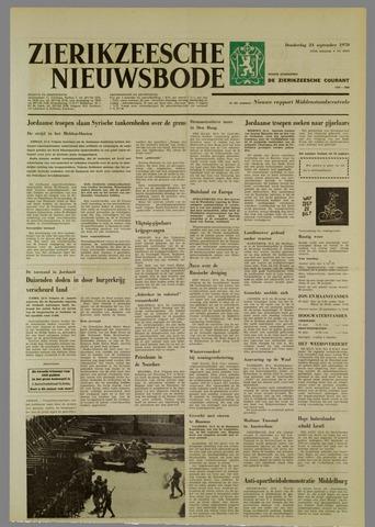 Zierikzeesche Nieuwsbode 1970-09-24
