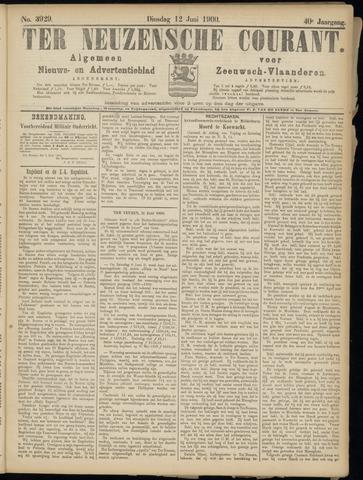 Ter Neuzensche Courant. Algemeen Nieuws- en Advertentieblad voor Zeeuwsch-Vlaanderen / Neuzensche Courant ... (idem) / (Algemeen) nieuws en advertentieblad voor Zeeuwsch-Vlaanderen 1900-06-12