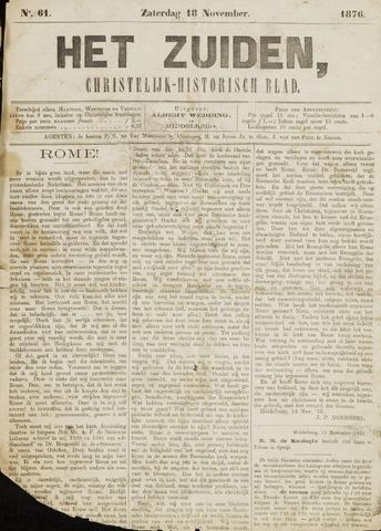 Het Zuiden, Christelijk-historisch blad 1876-11-18