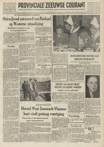 Provinciale Zeeuwse Courant 1953-09-30