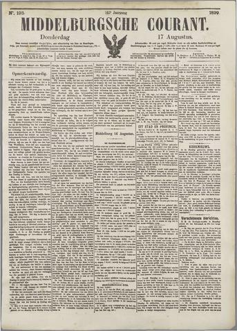 Middelburgsche Courant 1899-08-17