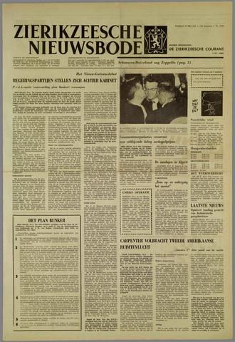 Zierikzeesche Nieuwsbode 1962-05-25