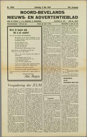 Noord-Bevelands Nieuws- en advertentieblad 1953-05-09
