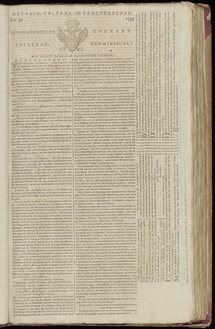 Middelburgsche Courant 1795-02-28