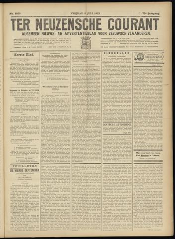 Ter Neuzensche Courant. Algemeen Nieuws- en Advertentieblad voor Zeeuwsch-Vlaanderen / Neuzensche Courant ... (idem) / (Algemeen) nieuws en advertentieblad voor Zeeuwsch-Vlaanderen 1932-07-08