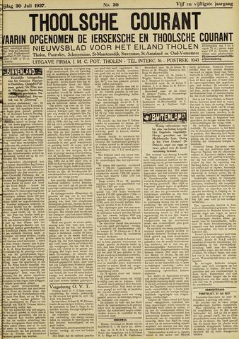 Ierseksche en Thoolsche Courant 1937-07-30