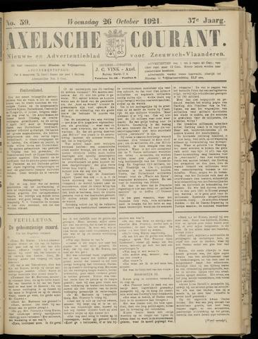 Axelsche Courant 1921-10-26
