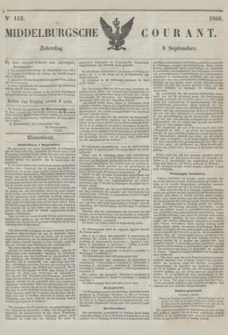 Middelburgsche Courant 1866-09-08