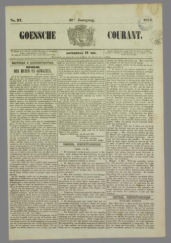 Goessche Courant 1854-05-11