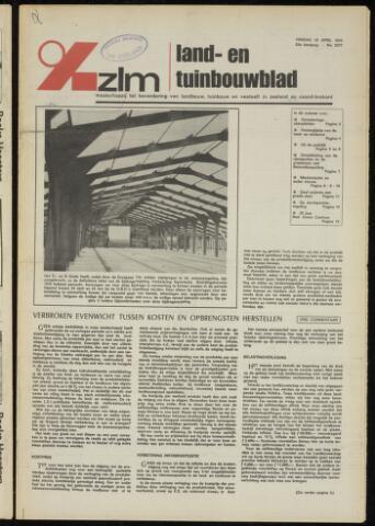 Zeeuwsch landbouwblad ... ZLM land- en tuinbouwblad 1975-04-18