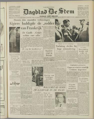 de Stem 1958-06-05