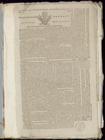 Middelburgsche Courant 1798