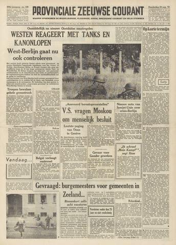 Provinciale Zeeuwse Courant 1961-08-24