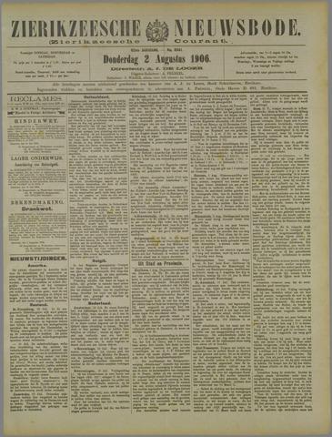 Zierikzeesche Nieuwsbode 1906-08-02