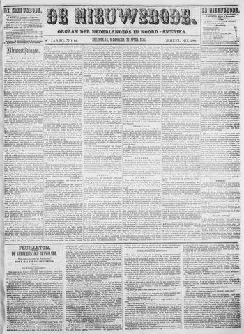 Sheboygan Nieuwsbode 1857-04-21