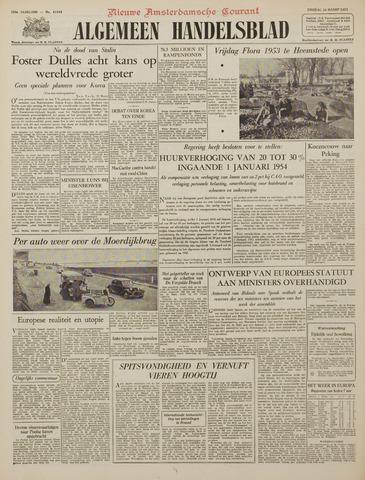 Watersnood documentatie 1953 - kranten 1953-03-10