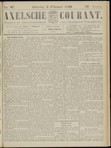 Axelsche Courant 1916-02-05