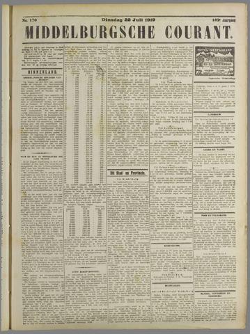 Middelburgsche Courant 1919-07-22