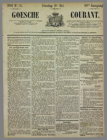 Goessche Courant 1881-05-10