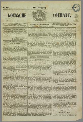 Goessche Courant 1854-11-16