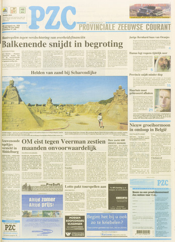 Provinciale Zeeuwse Courant 2003-06-28