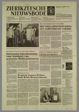 Zierikzeesche Nieuwsbode 1984-02-23