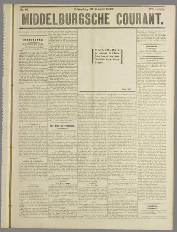 Middelburgsche Courant 1927-03-15