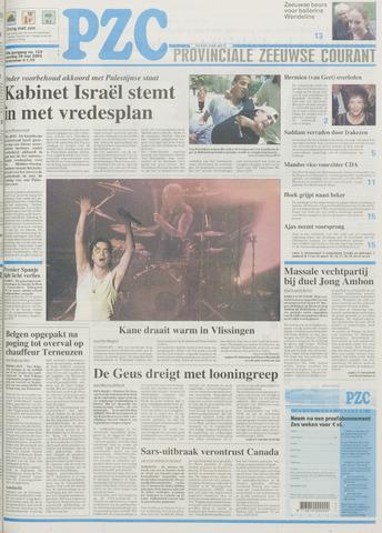 Provinciale Zeeuwse Courant 2003-05-26