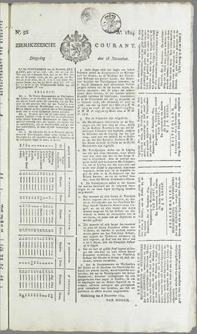 Zierikzeesche Courant 1824-11-16