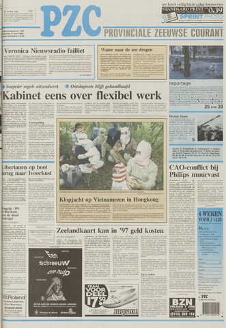 Provinciale Zeeuwse Courant 1996-05-11