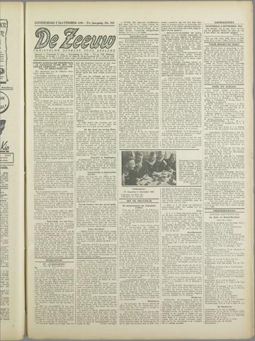 De Zeeuw. Christelijk-historisch nieuwsblad voor Zeeland 1943-09-02