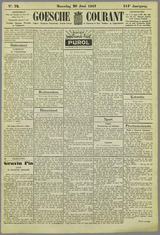 Goessche Courant 1927-06-20