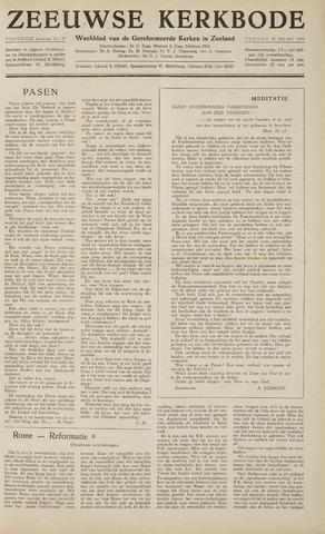 Zeeuwsche kerkbode, weekblad gewijd aan de belangen der gereformeerde kerken/ Zeeuwsch kerkblad 1959-03-27