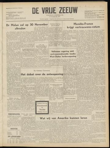de Vrije Zeeuw 1954-10-13