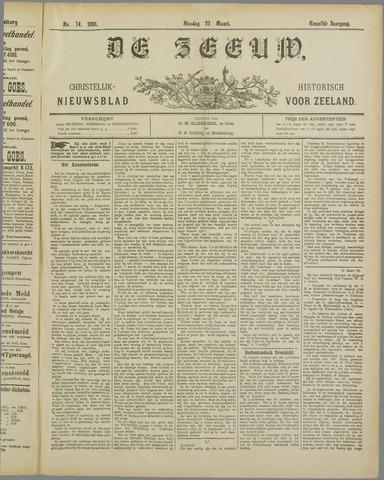 De Zeeuw. Christelijk-historisch nieuwsblad voor Zeeland 1898-03-22