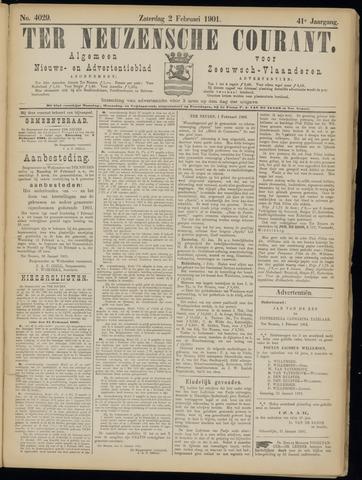 Ter Neuzensche Courant. Algemeen Nieuws- en Advertentieblad voor Zeeuwsch-Vlaanderen / Neuzensche Courant ... (idem) / (Algemeen) nieuws en advertentieblad voor Zeeuwsch-Vlaanderen 1901-02-02