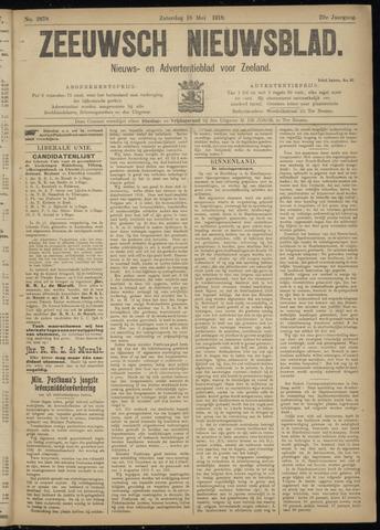 Ter Neuzensch Volksblad. Vrijzinnig nieuws- en advertentieblad voor Zeeuwsch- Vlaanderen / Zeeuwsch Nieuwsblad. Nieuws- en advertentieblad voor Zeeland 1918-05-18