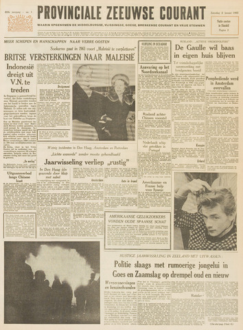 Provinciale Zeeuwse Courant 1965