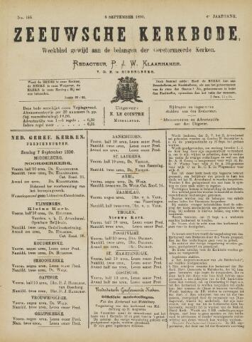 Zeeuwsche kerkbode, weekblad gewijd aan de belangen der gereformeerde kerken/ Zeeuwsch kerkblad 1890-09-06