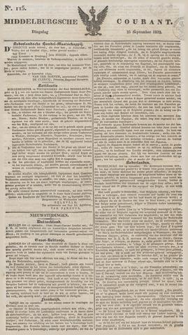 Middelburgsche Courant 1832-09-25