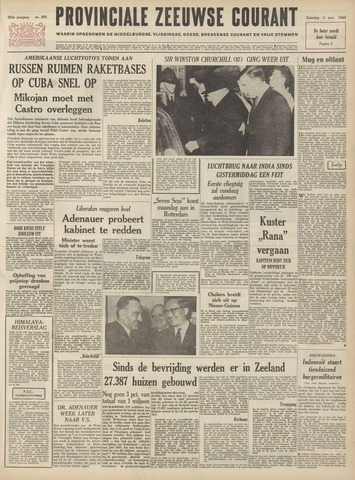 Provinciale Zeeuwse Courant 1962-11-03