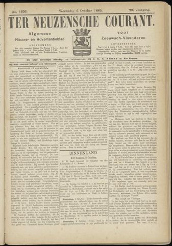 Ter Neuzensche Courant. Algemeen Nieuws- en Advertentieblad voor Zeeuwsch-Vlaanderen / Neuzensche Courant ... (idem) / (Algemeen) nieuws en advertentieblad voor Zeeuwsch-Vlaanderen 1880-10-06