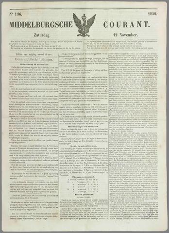 Middelburgsche Courant 1859-11-12