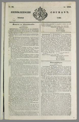 Zierikzeesche Courant 1844-05-03