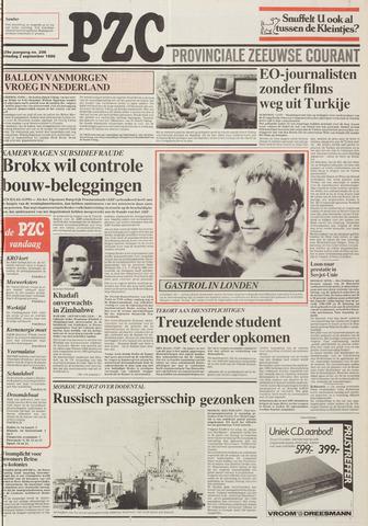 Provinciale Zeeuwse Courant 1986-09-02