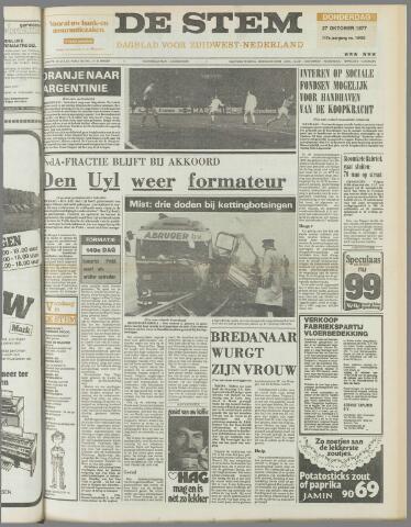de Stem 1977-10-27