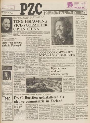 Provinciale Zeeuwse Courant 1975-01-18