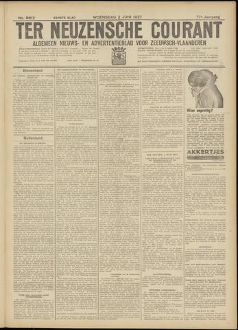 Ter Neuzensche Courant. Algemeen Nieuws- en Advertentieblad voor Zeeuwsch-Vlaanderen / Neuzensche Courant ... (idem) / (Algemeen) nieuws en advertentieblad voor Zeeuwsch-Vlaanderen 1937-06-02