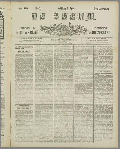 De Zeeuw. Christelijk-historisch nieuwsblad voor Zeeland 1910-04-08